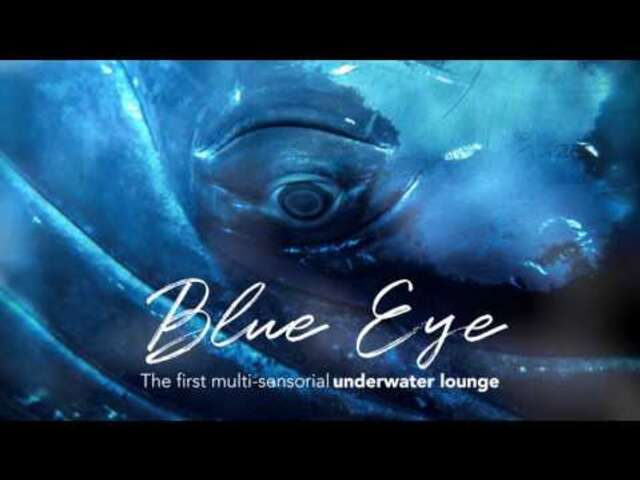 EXCLUSIVE: Blue Eye, the underwater lounge aboard the PONANT EXPLORERS