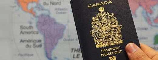 Your very fancy Canadian passport