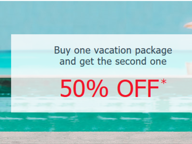 Buy 1, get 50% OFF The Other