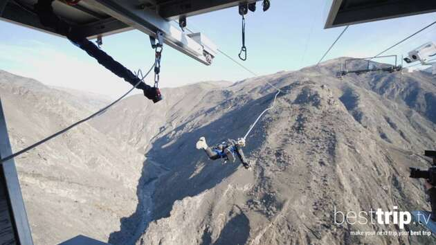 You Can Get Shot Out of a Bungee Catapult in New Zealand