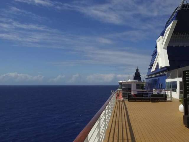 What Does a $500 Million Cruise Ship Reno Look Like?