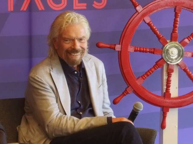 Video: Sir Richard Branson Explains How He Does Cruising