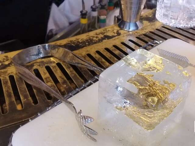 This Hotel Serves a Cocktail Made with Gold