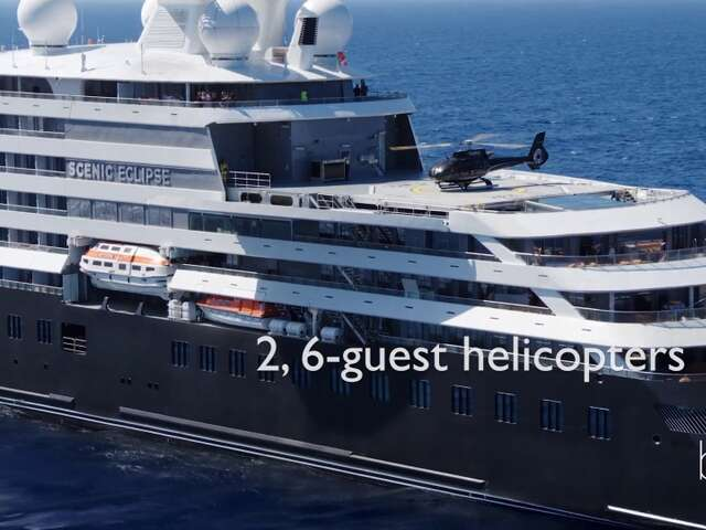 2 Helicopters - And a Submarine! Video Tour of this New, Luxury Expedition Cruise Ship