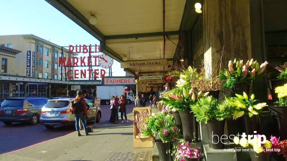 Visit America's Oldest Farmer's Market on the Shore of this West Coast City