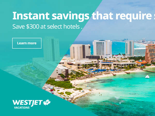 Instant Savings That Require Sunscreen - WestJet Vacations