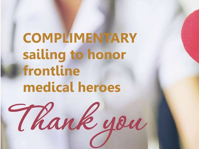 Complimentary Sailing onboard AmaWaterways for Frontline Heros