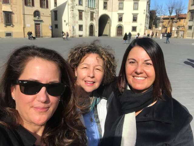 Italy Fam trip Tuscany and Rome (69 kms and 109,000 steps later) February 2019 (Lisa Bain and Manya Kellou)