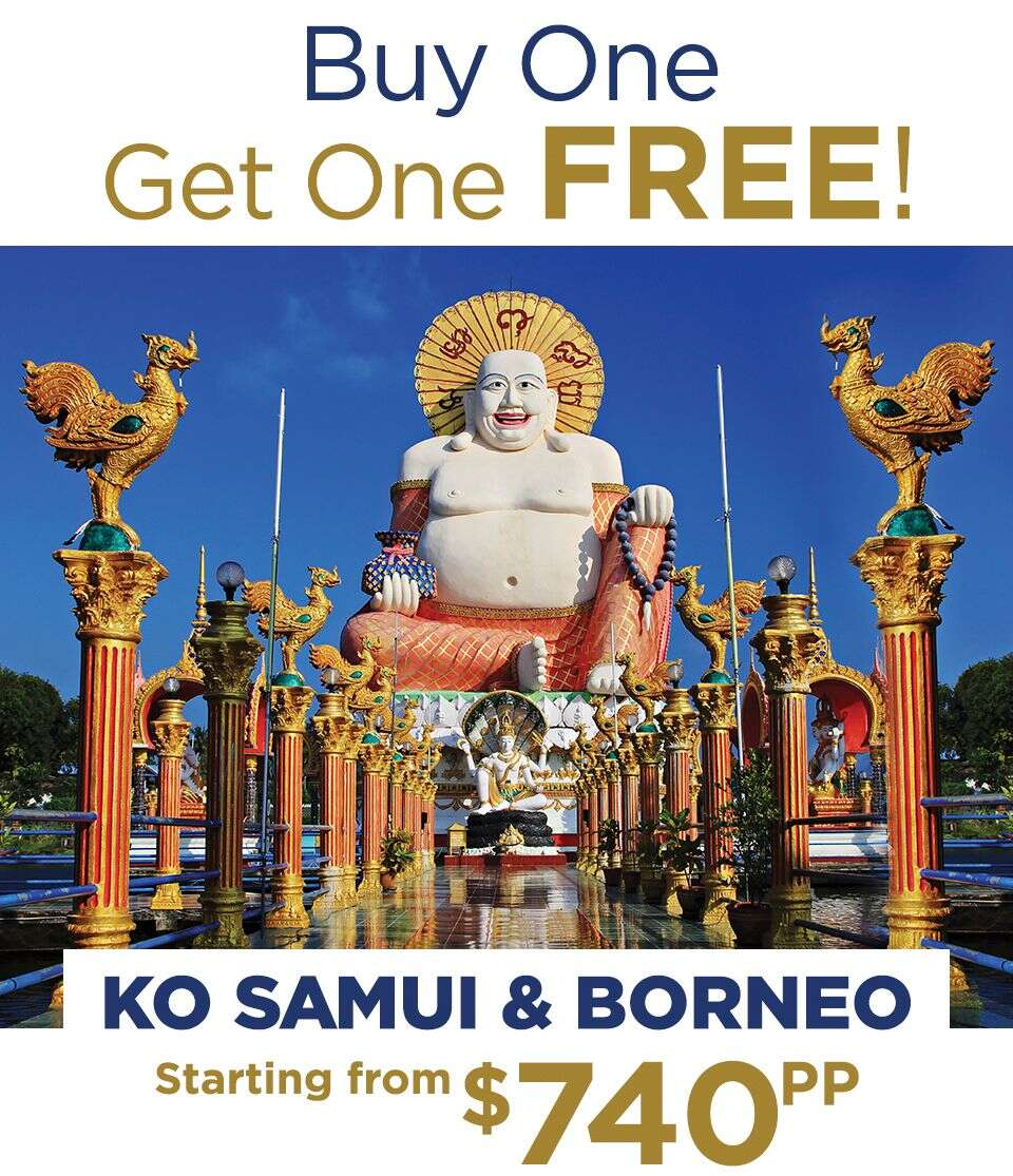 Star Clippers Special! Two for One Borneo & South East Asia
