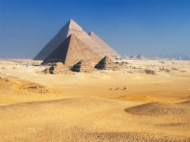PYRAMIDS, PHARAOHS & PARADISE