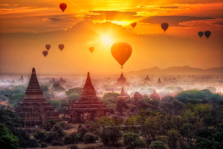 Myanmar Balloons