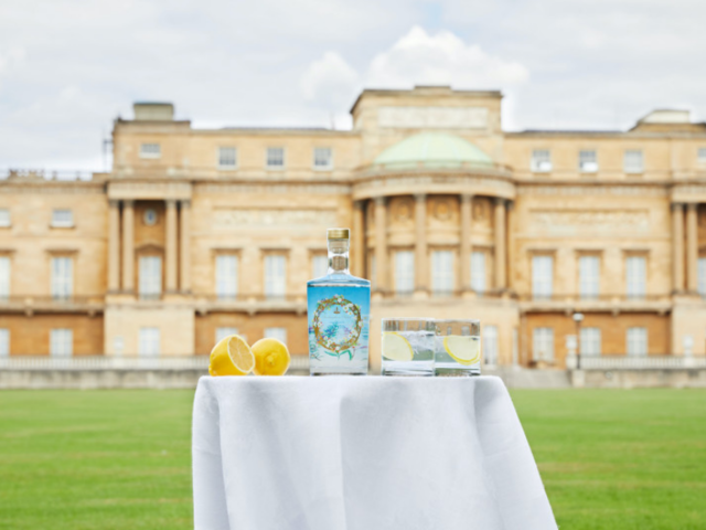 Drink Like the Queen with the First Official Buckingham Palace Gin