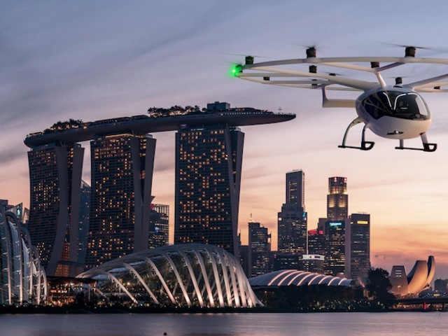 Look Ma, No Hands!  Unmanned Air Taxis to Launch in Singapore