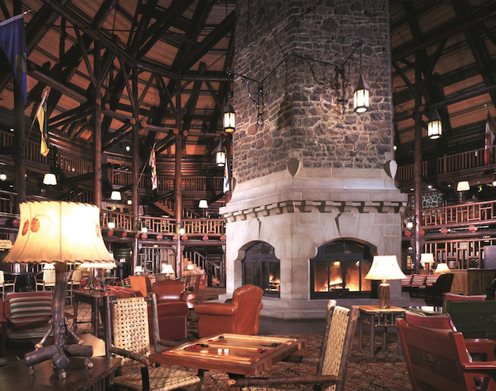 Snuggle Up In the World's Largest Log Cabin