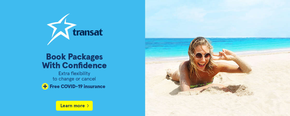 Book Packages With Confidence - Extra flexibility to change or cancel + Free COVID-19 insurance