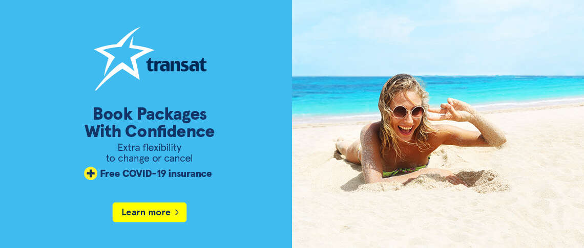 EXTENDED! Book Packages With Confidence - Extra flexibility to change or cancel + Free COVID-19 insurance
