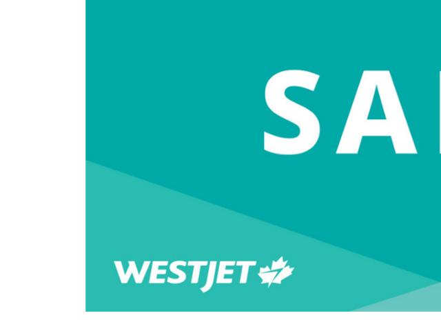 WestJet / WestJet Vacations Sale Oct 1 - 9