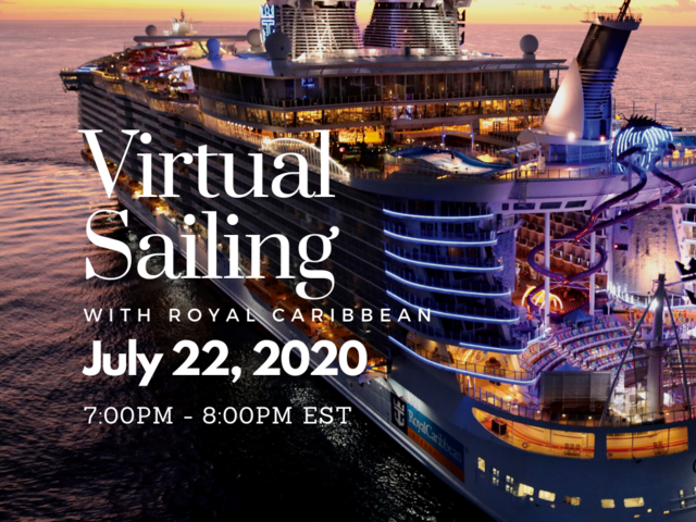 Join us for a Virtual Sailing with Royal Caribbean