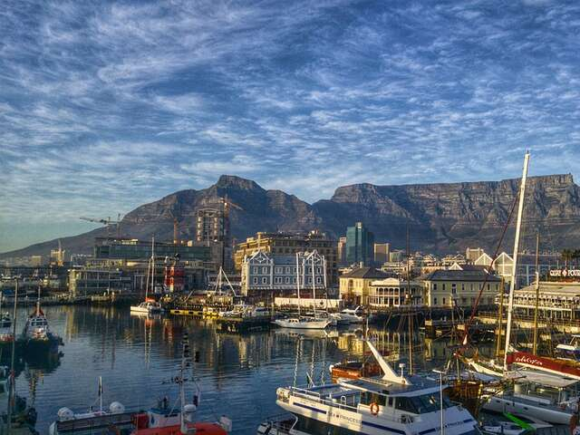 Cape Town, South Africa - Tour Begins