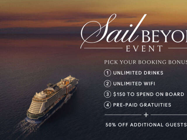 Sail Beyond Event - Celebrity Cruises