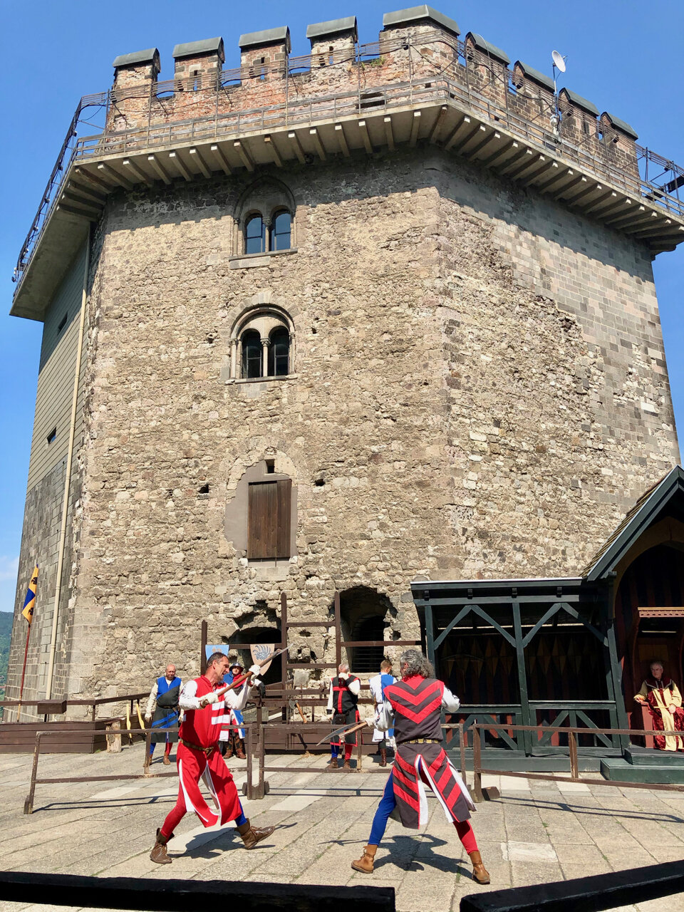 Medieval Knights Tournament in Visegrad