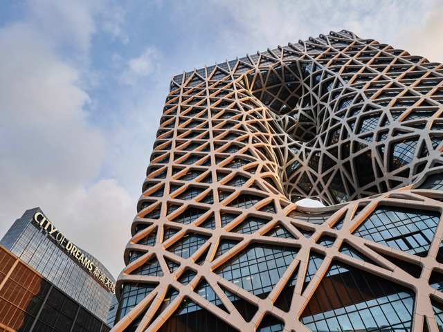 This Macau Hotel is the World's First 'Exoskeleton' High-Rise