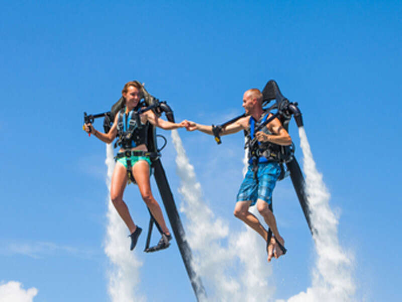 Strap on a Water-Powered Jetpack on the Oahu Jetpack Experience
