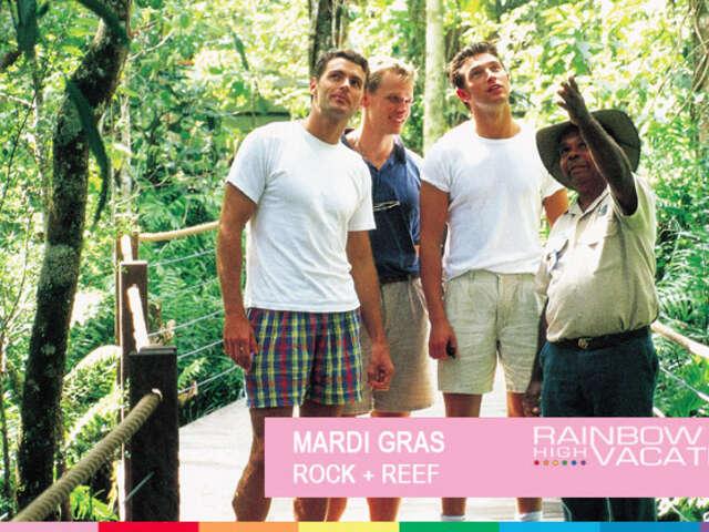 MARDI GRAS - ROCK + REEF