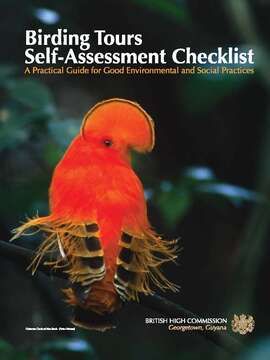 Birding Tours Self Assessment Checklist