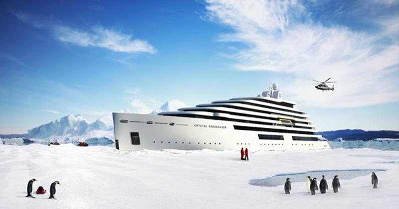Crystal Cruises Announces The World's Largest Megayacht