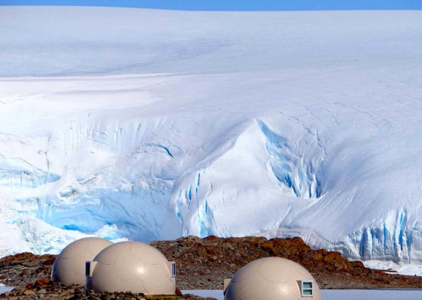 Go Glamping in Antarctica