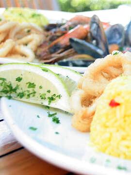 The Black Marlin Seafood Restaurant!