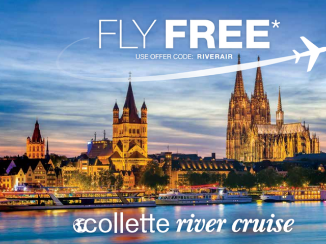 River Cruise Free Air Promotion