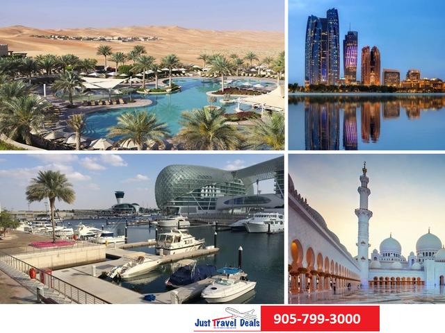 Abu Dhabi - Grand Adventure. Vacations, Hotels, Tours & Flights