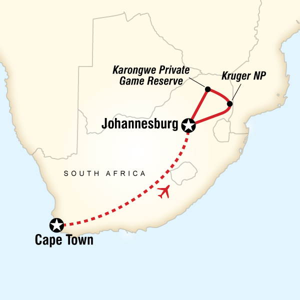 South Africa's Cape town & Kruger National Park