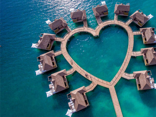 The New Spectacular Over-the-Water Bungalows with Sandals