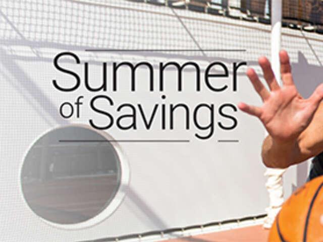 Summer of Savings on Celebrity Cruises
