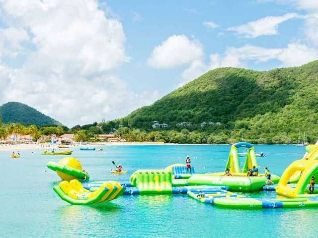 WestJet Vacations - Free passes to Splash Island Water Park!