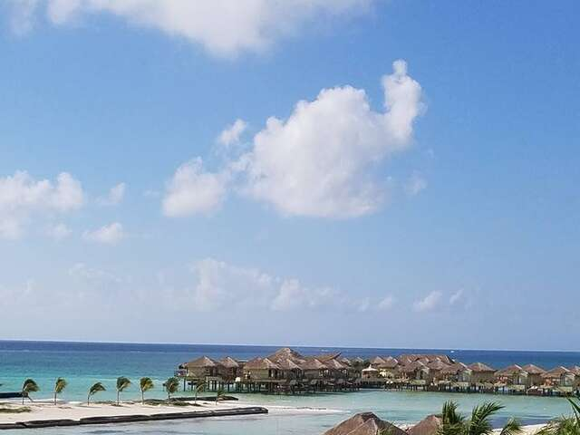 Amazing Over Water Bungalows in Mexico!