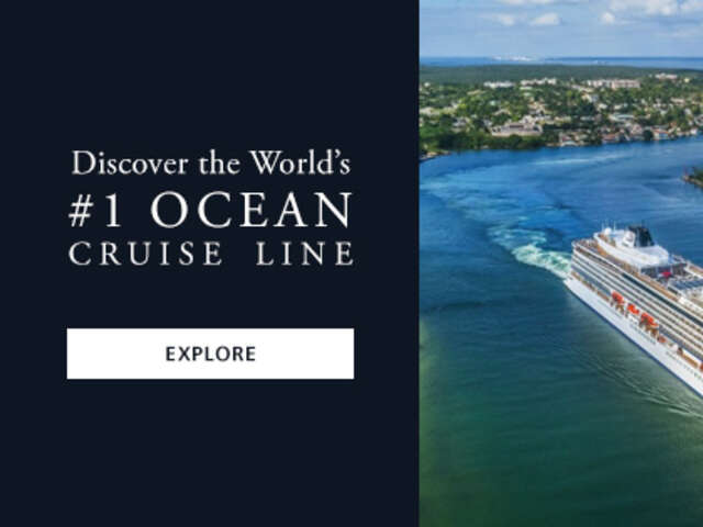 Discover the World's #1 Ocean Cruise Line