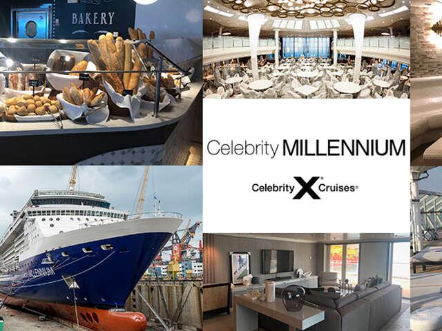 A New Celebrity Millennium Kicks Off Celebrity Cruises' Revolution