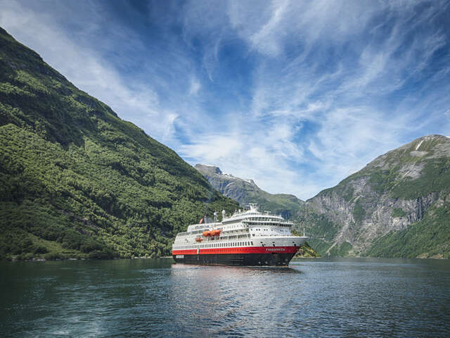 Hurtigruten Introduces New Expedition Ship: MS Finnmarken Slated for Total Makeover