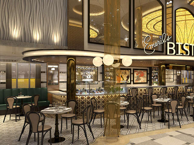 Emeril Lagasse Spices up Carnival Cruise Line's Mardi Gras with First-Ever Restaurant at Sea