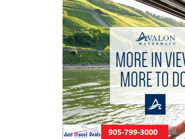 Promotion - Save $1,200 per couple & more on select European River Cruises!