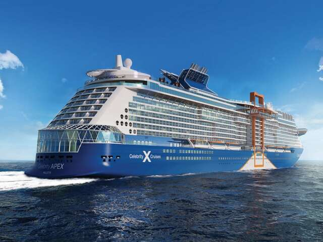 Introducing our next ship to push modern travel to bold new heights.
