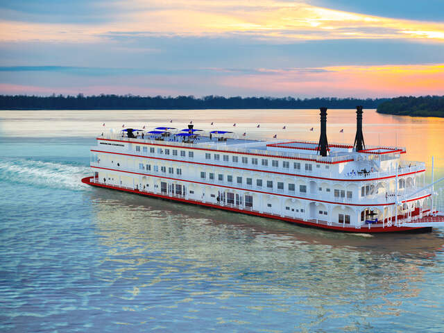 A New Member Joins American Queen Steamboat Company's Royal Family