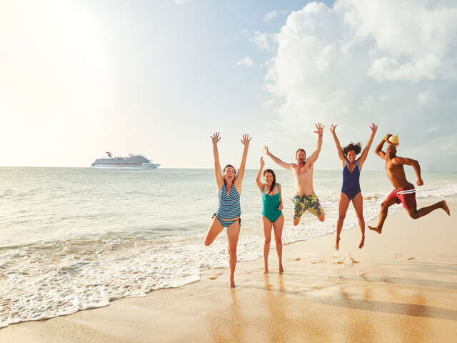 Carnival - Receive free upgrades and up to $100 onboard credits!