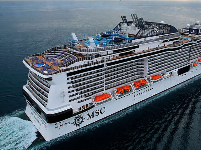 MSC Meraviglia Makes Her Inaugural Visit to Miami, Her New Homeport