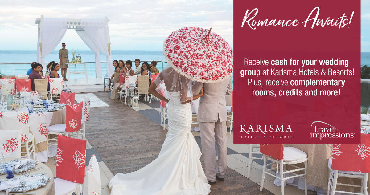 Travel Impressions - Cash for your Wedding Group!