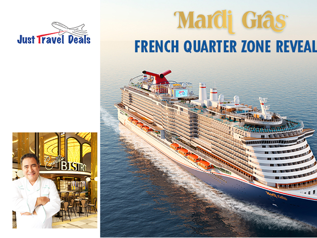 New Spaces Revealed aboard Carnival Mardi Gras Cruise !
